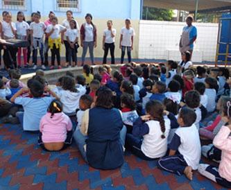 Foto: Apresentação de coral das nossas crianças para a Creche São Paulo Apóstolo